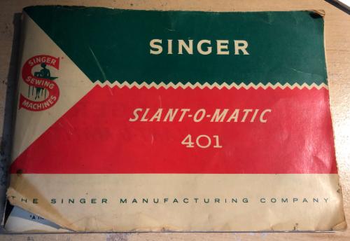 singer slant-o-matic manual