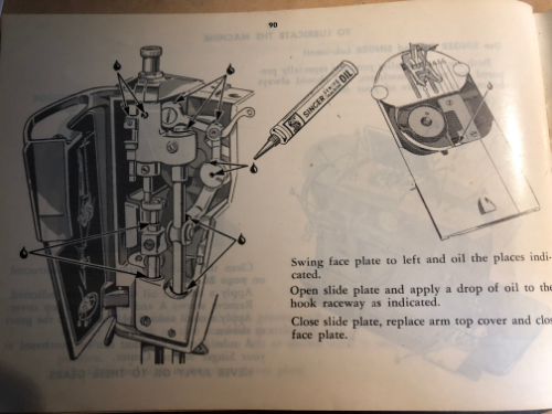 singer slant-o-matic sewing machine manual